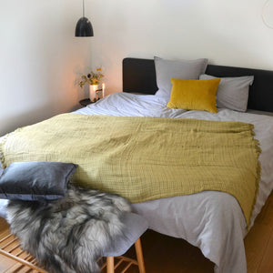Plaid / Throw AU Maison Skagerak Olive