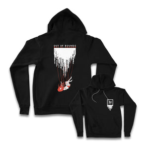 OUT OF BOUNDS: BLACK EDITION Hoodie