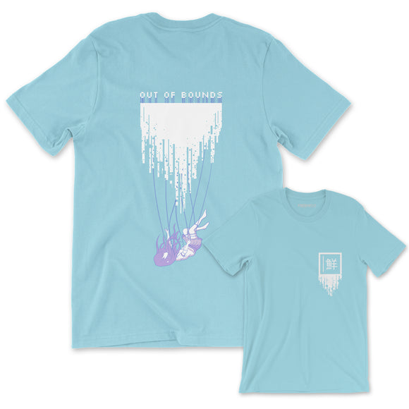 OUT OF BOUNDS T-Shirt (OCEAN BLUE)