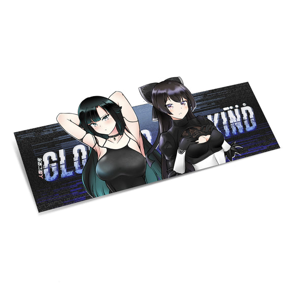 GLORY 2WAIFUS Sticker