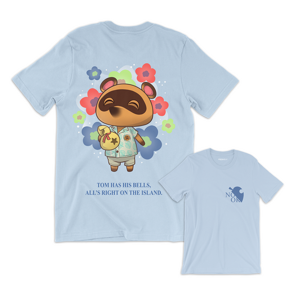 SATISFIED NOOK (BLUE) T-Shirt
