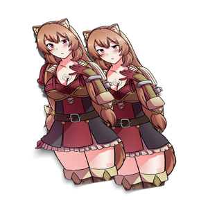 ADULT RAPHTALIA Sticker