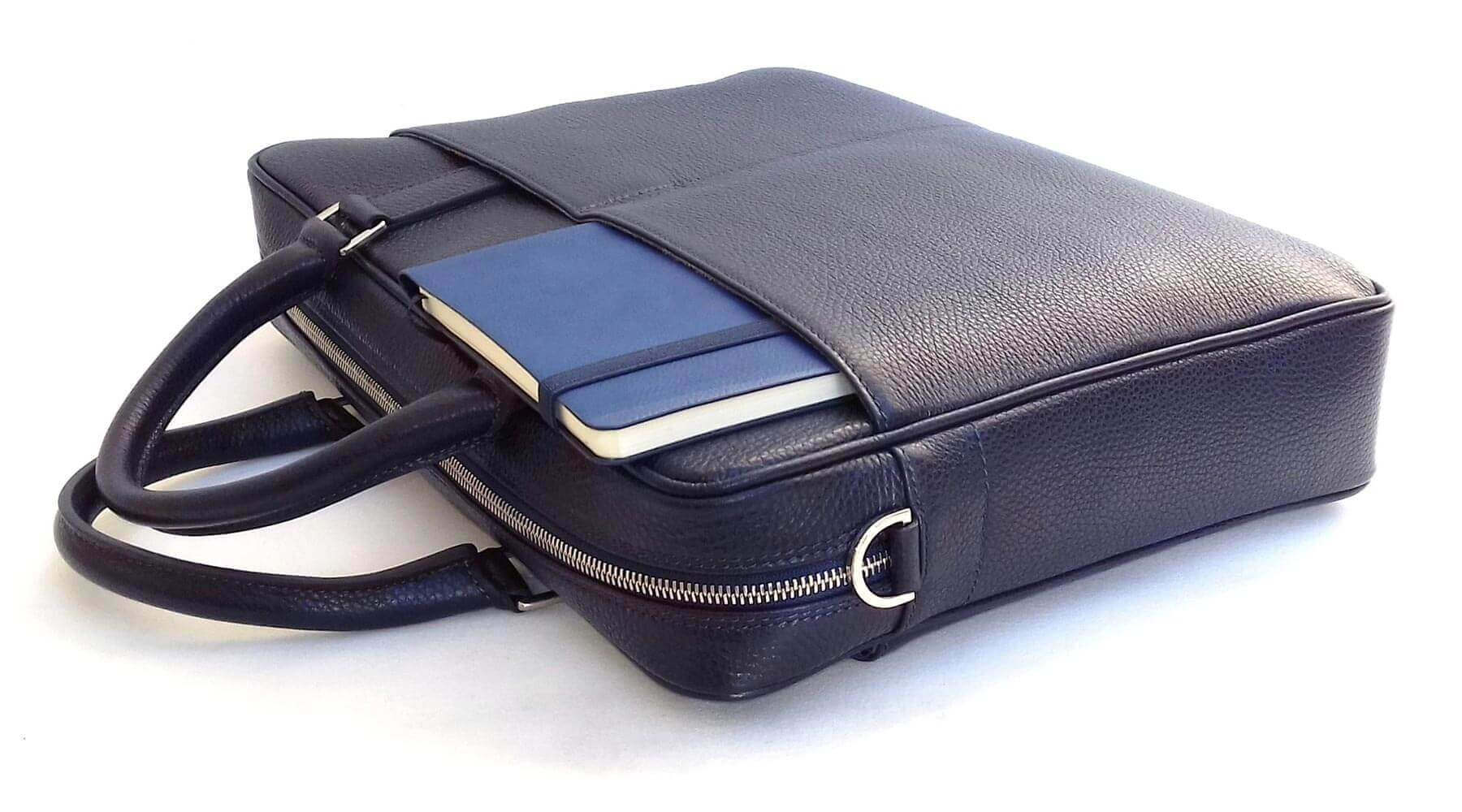 Italian Leather Briefcase Made in Italy - Shop for Italian leather briefcases today - DiLoro Switzerland