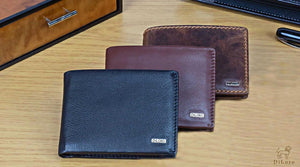 Stunning Men's Leather Coin Wallets made from only the best, full grain leather - quality you can see, feel and smell! Strong RFID Blocking Shield to protect your privacy. Shop DiLoro today!