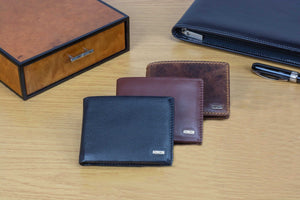 Compact Mens Leather Wallets by DiLoro - Designed in Switzerland