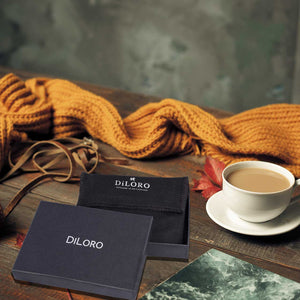 DiLoro Men's Bifold Leather Wallet Lugano Collection Bugatti Tan - Top Quality Leather and Expert Workmanship
