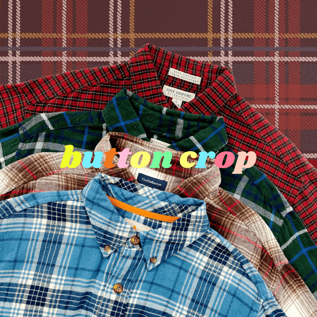*NEW* Flannel Crop Shirts Mystery Bag