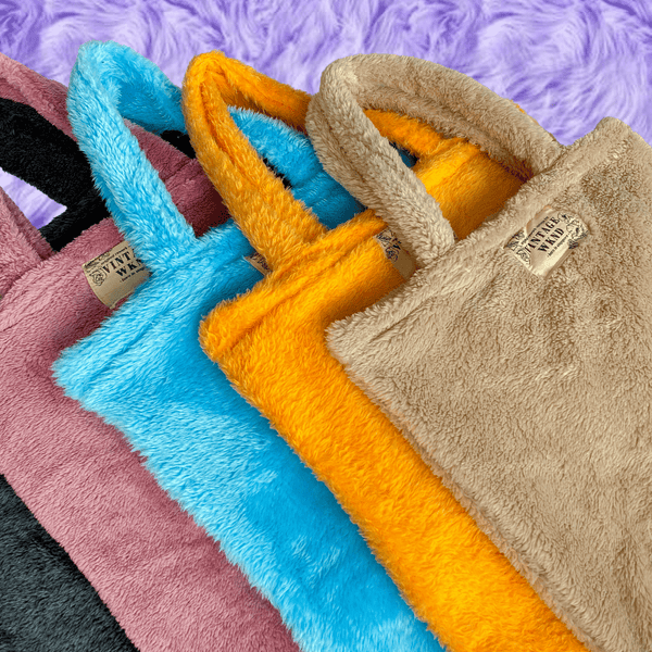 *NEW* Fluffy Furry Tote