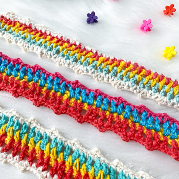 🍭Gummy Worm Knit Headband