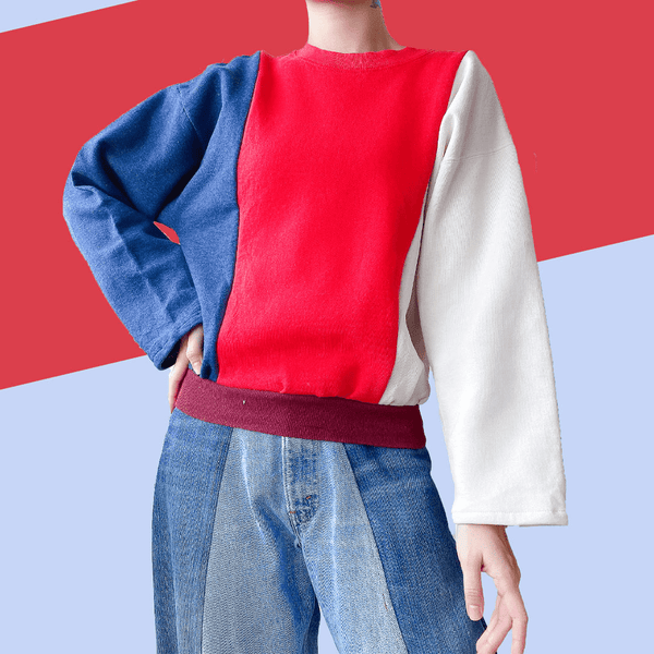 🪐Y2K / 90s Rework Colourblock Sweaters Mystery Bag🪐