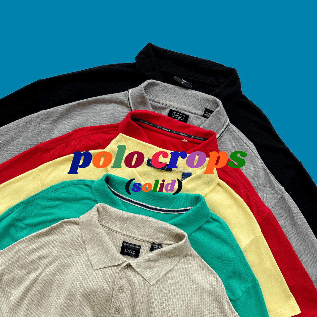 *NEW* 🪐Y2K / 90s Crop Polo Tees Mystery Bag🪐