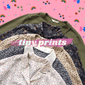 Long Sleeve Tiny Prints Vintage Blouse Mystery Bag