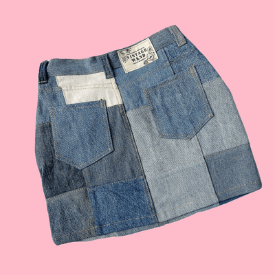 Denim Crop Shirt Mystery Bag