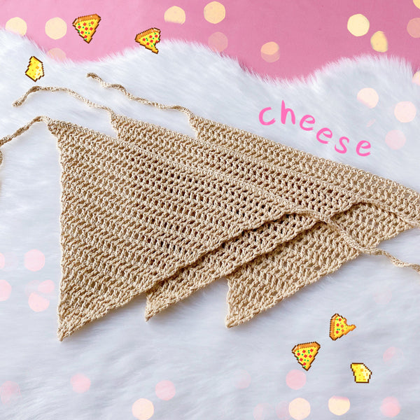 🍕Pizza Knit Headband
