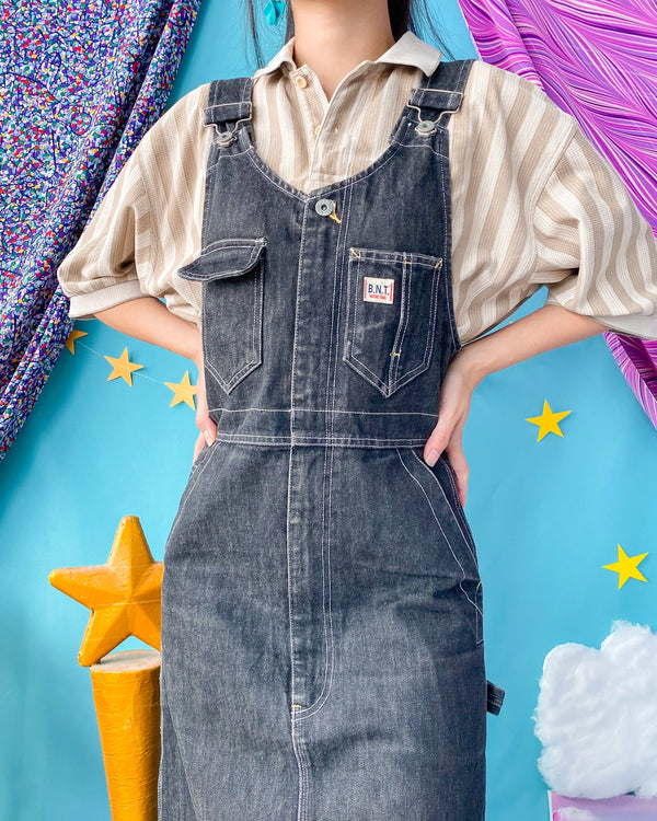 UK16-18 Vintage Overalls/Pinafore OP425