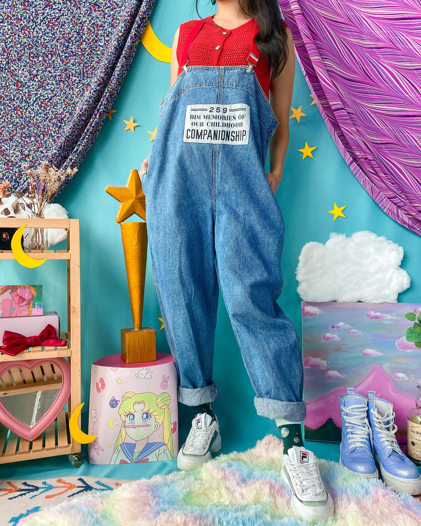 UK20 Vintage Overalls/Pinafore OP427