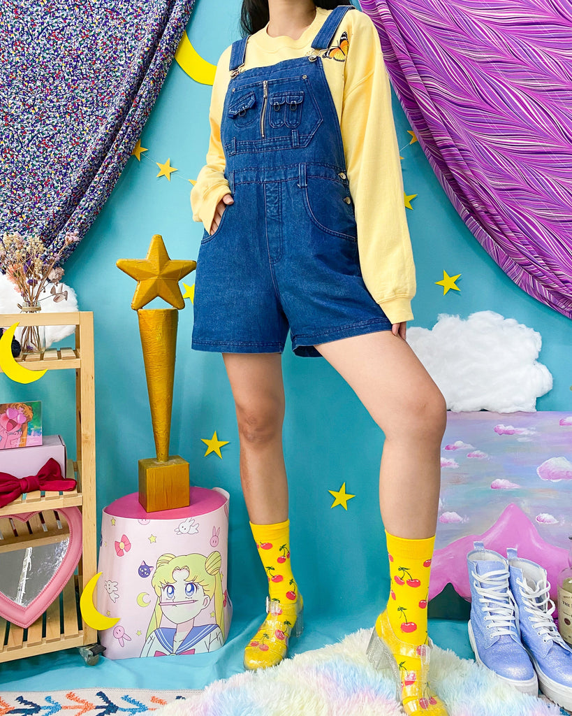 UK16-18 Vintage Overalls/Pinafore OP434