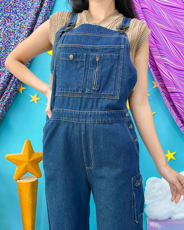 UK16-18 Vintage Overalls/Pinafore OP435