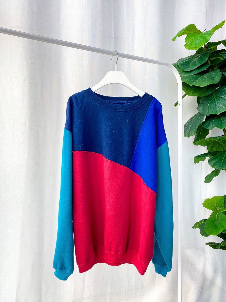 90s/Y2K Technicolour Sweater OT1166