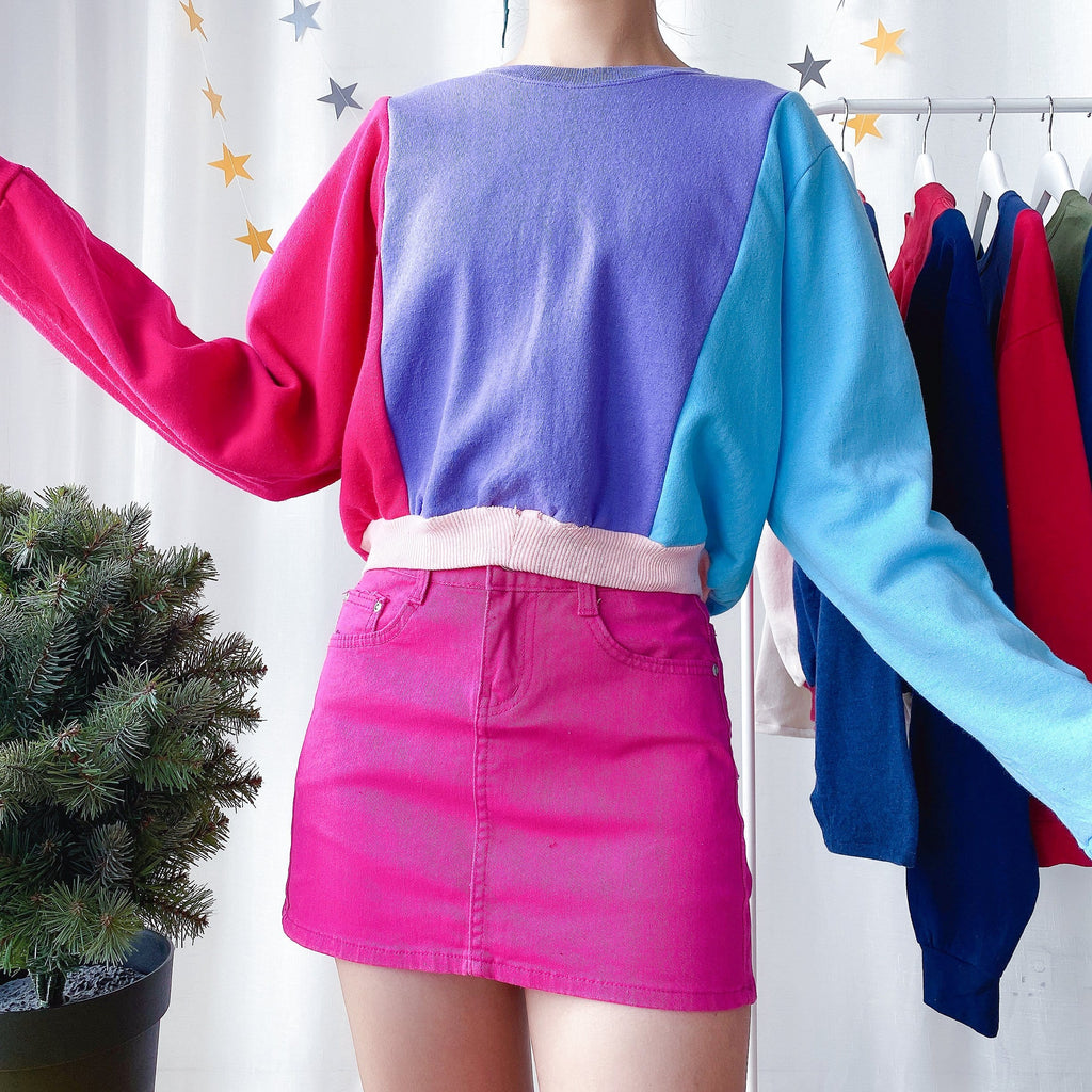 UK20+ Colourblock Sweater OT861