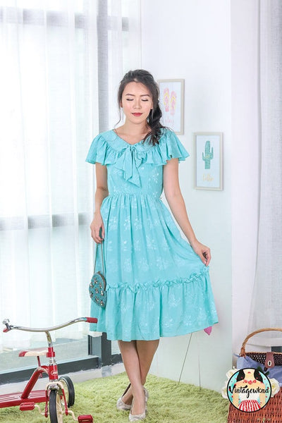 UK4-6 Vintage Midi Dress SP206