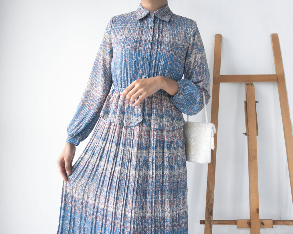 UK8-10 Vintage Midi Dress SP287