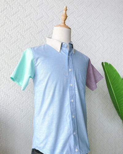 Colourblock Shirt TO546