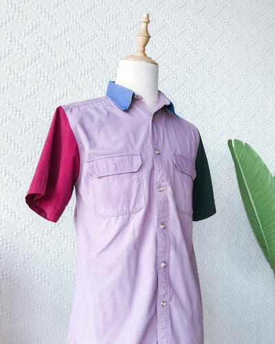 Colourblock Shirt TO549