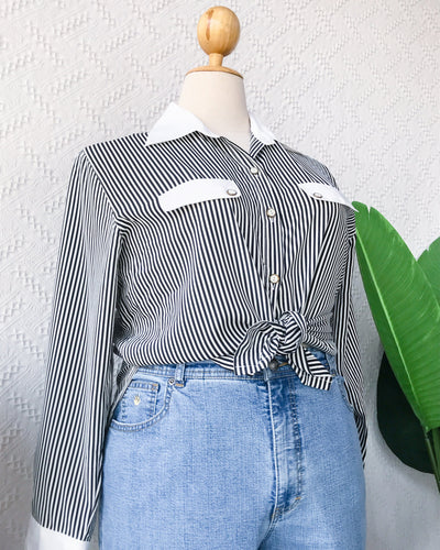 PLUS SIZE Vintage Blouse VB2972