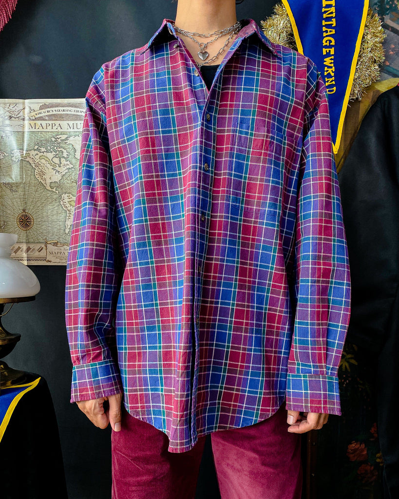 UK20 90s Flannel Shirt VB5097