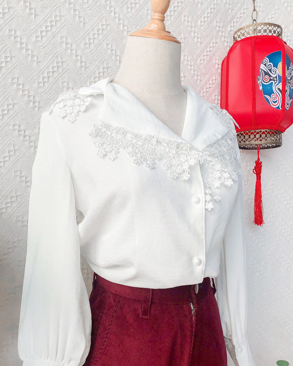 UK12-14 Vintage Blouse VB5401