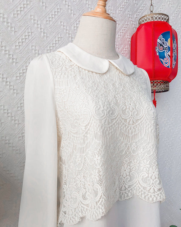 UK12-14 Vintage Blouse VB5403