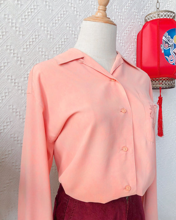 UK16-18 Vintage Blouse VB5404