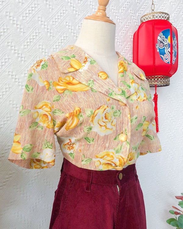 UK16-18 Vintage Blouse VB5412