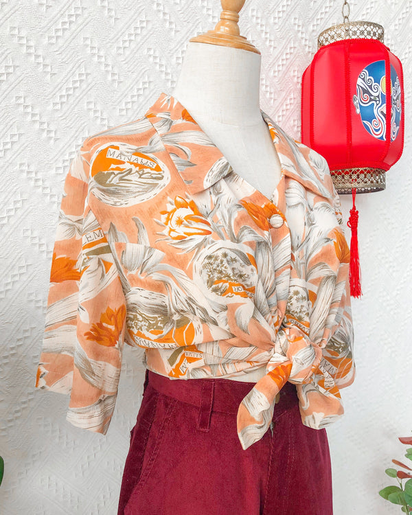 UK20 Vintage Blouse VB5413