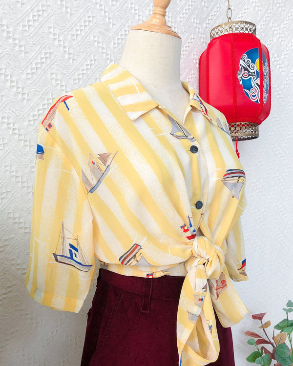 UK16-18 Vintage Blouse VB5414