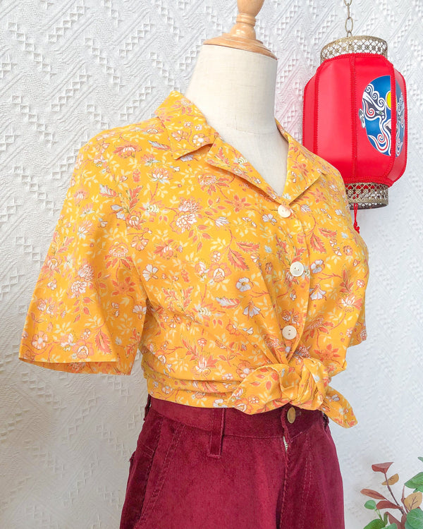 UK12-14 Vintage Blouse VB5415