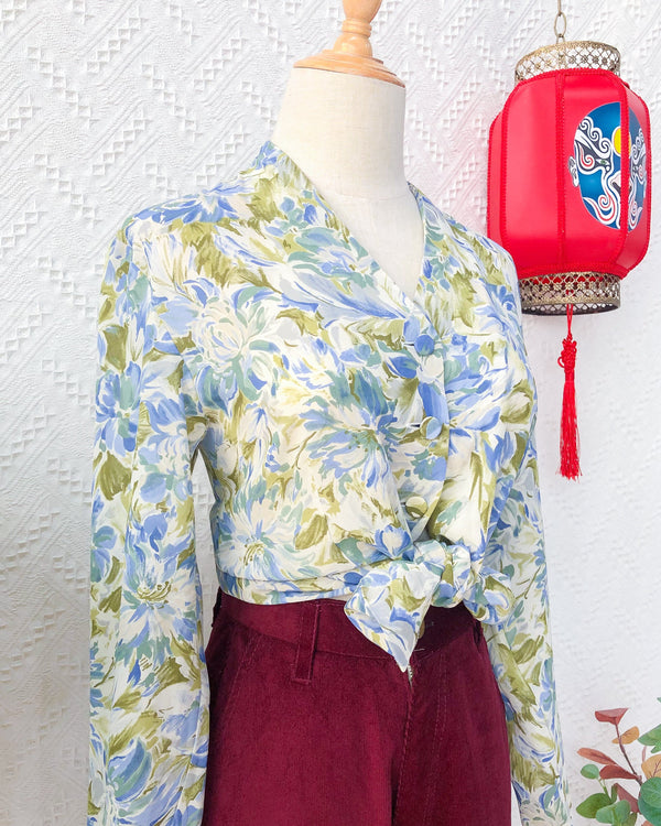 UK12-14 Vintage Blouse VB5420
