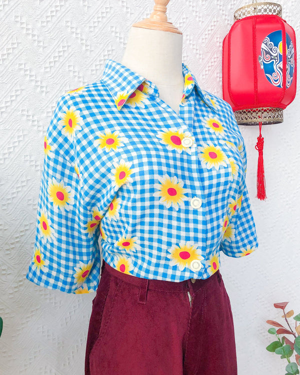 UK20 Vintage Blouse VB5424