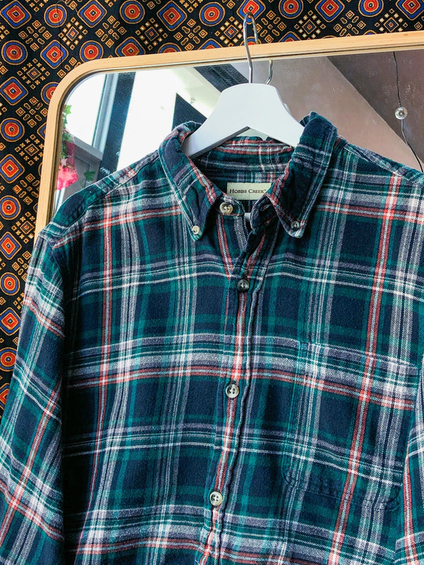 Flannel Crop Shirt VB5881