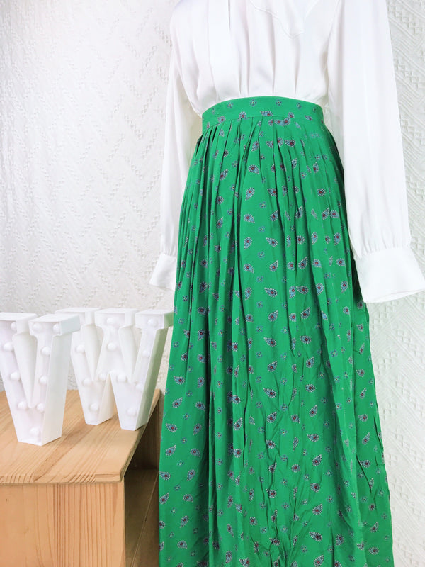 Size 25' Vintage Maxi Skirt VS1792