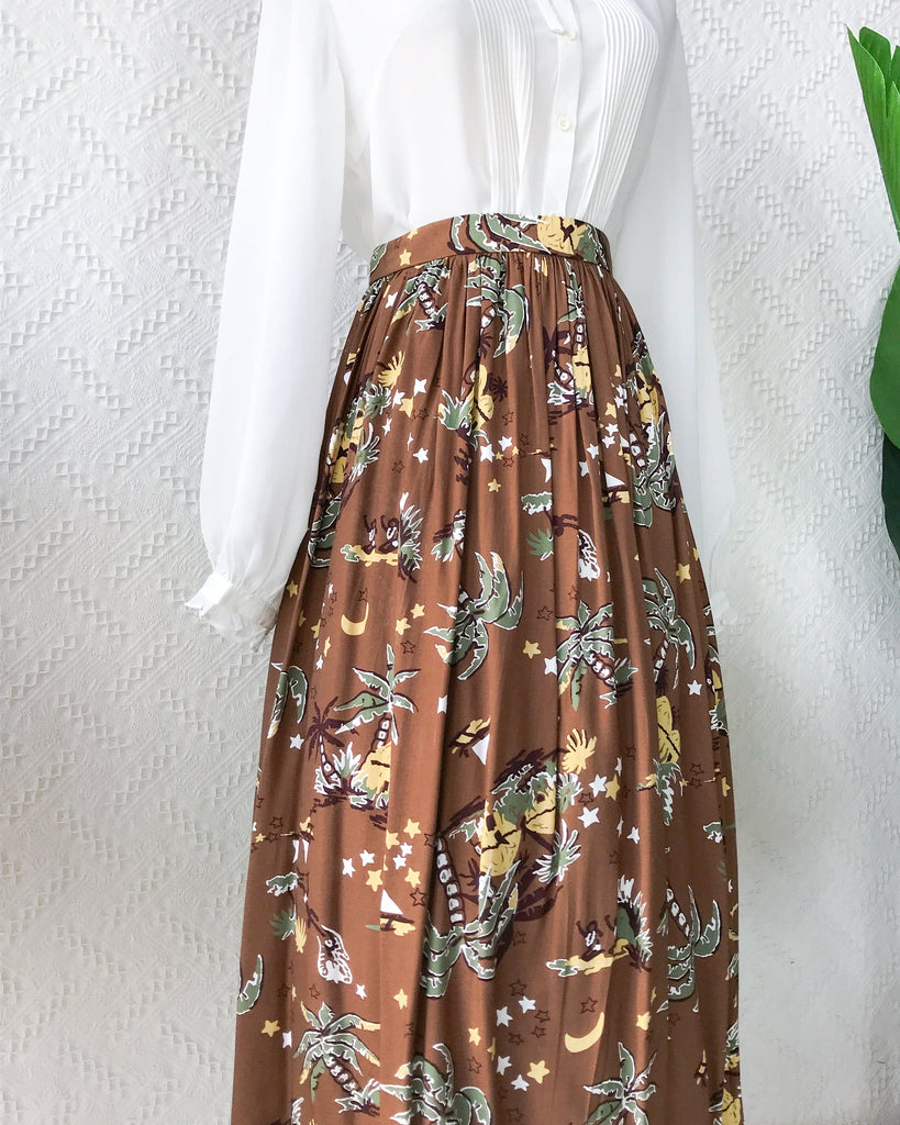 Size 27' Vintage Midi Skirt VS2111