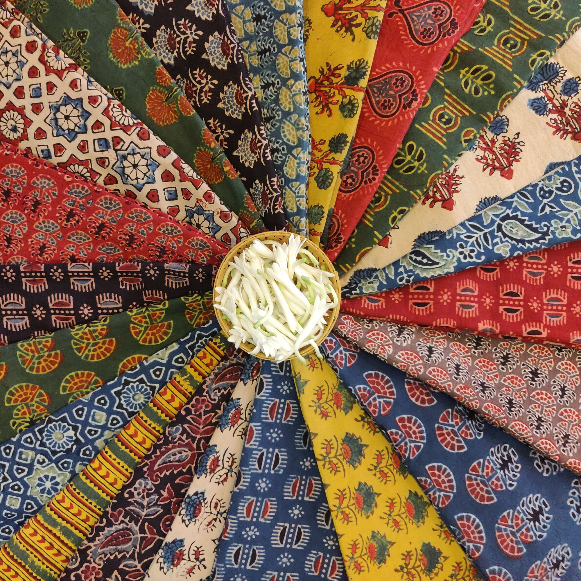Ajrak Cotton Fabrics