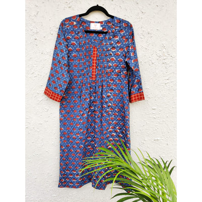 AASAWARI - Comfy And Breezy Pintucks Kurta
