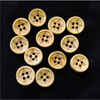 Pack Of Five Carved Patterned Wooden Button