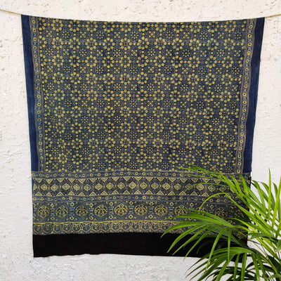 Pure Cotton Azra Ajrak Dupatta