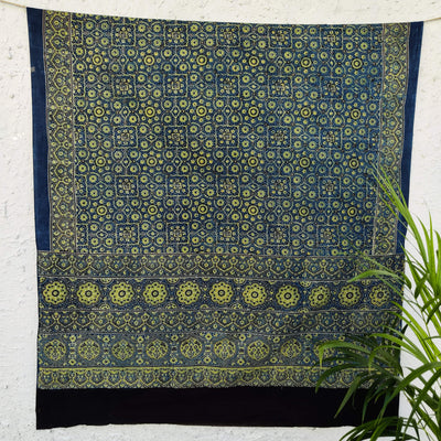 Pure Cotton Duaa Ajrak Dupatta