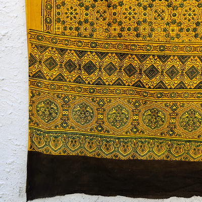 Pure Cotton Inaya Ajrak Dupatta