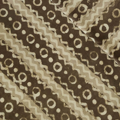 Pure Cotton Kashish With Light And Dark Kashish Zig Zag Stripes