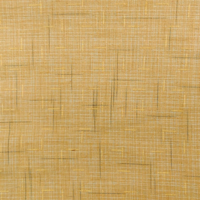 Pure Cotton Light Sandy Beige With Black And Cream Slub Woven Fabric